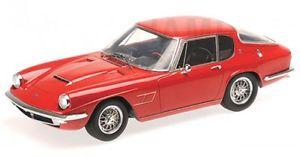 【送料無料】模型車 モデルカー スポーツカー マセラティマセラティミストラルクーペmaserati mistral coupe red 1963
