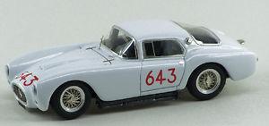 【送料無料】模型車 モデルカー スポーツカー マセラティマセラティピニンファリーナクーペミッレミリア#abc 201 maserati a6gcs coupe pininfarina 1953 ch2059 mille miglia 643 white