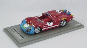 【送料無料】模型車 モデルカー スポーツカー アルファロメオグレゴリーテクノモデルalfa romeo 333 coda lunga lm 1970 henzemangregory tecnomodel 118 tm1827c