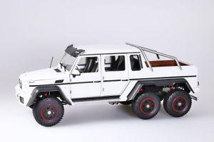 【送料無料】模型車 モデルカー スポーツカー メルセデスベンツ×マットホワイトmercedes benz g63 amg 6x6 2013 matt weiss  autoart 118 neuovp
