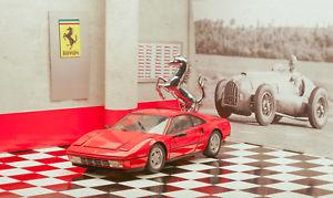 【送料無料】模型車 モデルカー スポーツカー フェラーリロッソボックスミントferrari 328 gtb 118 rot rosso kyosho ovp in box mint condition