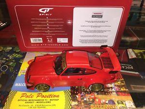 【送料無料】模型車 モデルカー スポーツカー ポルシェソフトウェアライセンスワールドワイドgt083 gt spirit 1 18 porsche 911 964 rwb red very rare shipping worldwide