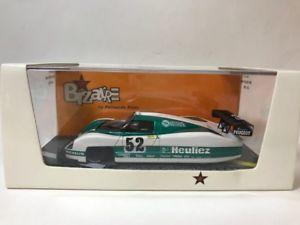 【送料無料】模型車 モデルカー スポーツカー プジョー#ルマンbizarre 143 wm peugeot p489 52 le mans 1989 bz195