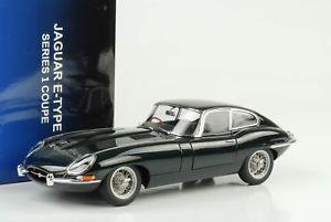 【送料無料】模型車 モデルカー スポーツカー ジャガータイプクーペシリーズレーシンググリーン1961 jaguar etype 38 coupe series 1 racing grn 118 autoart 73612