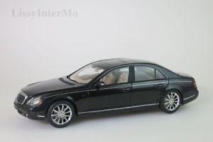 【送料無料】模型車 モデルカー スポーツカー マイバッハブラックmaybach 57s 2005 schwarz 76156 autoart 118 neuovp