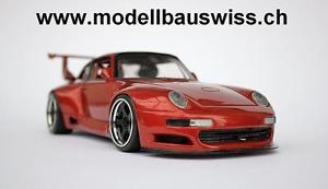118 tuning umbau wwwmodellbauswissch 993 スポーツカー gt2 rar ポルシェグアテマラチューニングモデルスイスporsche 【送料無料】模型車 モデルカー