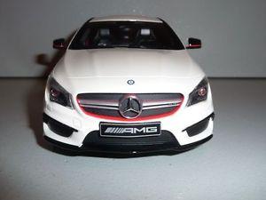 【送料無料】模型車 モデルカー スポーツカー メルセデスベンツエディショングアテマラディーラーmercedesbenz cla 45 amg edition 1 white 118 gtspirit dealer very rare