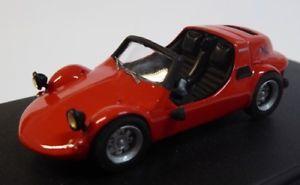 【送料無料】模型車 モデルカー スポーツカー フィアットロッサマイクロプリントneues angebotfiat 500 zanzara prototipo zagato rossa  microsprint 18120