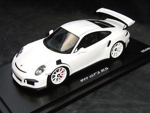 【送料無料】模型車 モデルカー スポーツカー ポルシェポルシェグアテマラワックスデザインporsche 118 wax 02100018 porsche 991 gt3 rs weiss mit design neu ovp