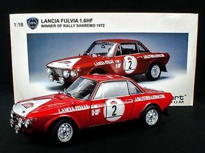 【送料無料】模型車 モデルカー スポーツカー ランチアラリーサンレモautoart lancia fulvia 16 hf rally san remo 1972 118 ovp