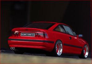 【送料無料】模型車 モデルカー スポーツカー チューニングオペルターボ×アルミホイール118 tuning opel calibra 4x4 turbo bbs pvcalufelgen inkl ovp