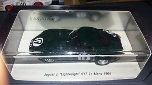 【送料無料】模型車 モデルカー スポーツカー スパークジャガー#ルマンspark 143 jaguar e lightweight 17 le mans 1964 s2108