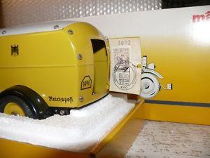 【送料無料】模型車 モデルカー スポーツカー ロッコポストカーパッケージl9 mrklin 1990 7001 postwagen paket auto 500 jahre post