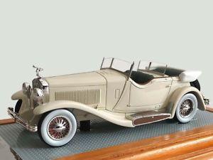 【送料無料】模型車 モデルカー スポーツカー デュアルカウルスポーツツアラージェームズディーンイルilario isotta fraschini tipo 8a dual cowl sports tourer jamesdean car 1933 il125