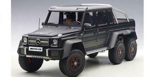 【送料無料】模型車 モデルカー スポーツカー メルセデスベンツマットブラックautoart mercedesbenz g63 amg 6x6 matt schwarz 118 76302