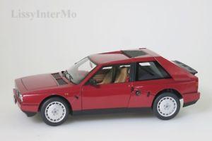 【送料無料】模型車 モデルカー スポーツカー ランチアデルタlancia delta s4 1985 rot autoart 118 neuovp