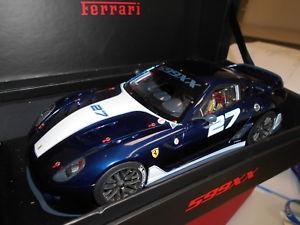 【送料無料】模型車 モデルカー スポーツカー コレクションモデルフェラーリmrfe02rd by mr collection models ferrari 599xx 118