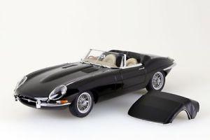 【送料無料】模型車 モデルカー スポーツカー ジャガータイプロードスターシリーズjaguar etype roadster series i 38 schwarz autoart 118 neuovp