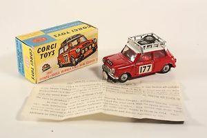 【送料無料】模型車 モデルカー スポーツカー コーギーモンテカルロミニクーパーボックスミントcorgi toys 339, monte carlo winner bmc mini cooper s, mint in box  ab1809