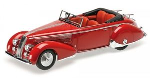 【送料無料】模型車 モデルカー スポーツカー ランチアコルトlancia astura tipo 233 corto red 1936