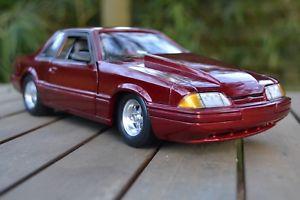 【送料無料】模型車 モデルカー スポーツカー フォードマスタングクーペアースford mustang 1989 50 lx coupe gmp 118 ground pounder