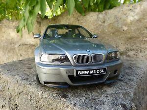 【送料無料】模型車 モデルカー スポーツカー オットーbmw m3 e46 csl 112 otto