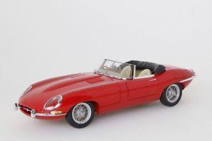 【送料無料】模型車 モデルカー スポーツカー ジャガータイプロードスターシリーズjaguar etype roadster series i 38 rot  autoart 118 neuovp