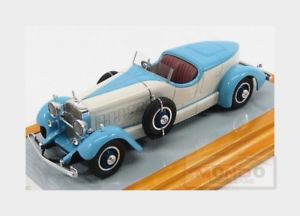 【送料無料】模型車 モデルカー スポーツカー キャデラックファリーナロードスターligモデルイルcadillac 452a v16 farina roadster 1931 ligblue white ilario model 143 il43099