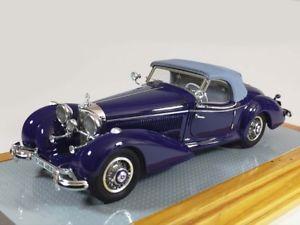 【送料無料】模型車 モデルカー スポーツカー メルセデスロードスタージンデルフィンゲンイルilario mercedes 540k spezial roadster sindelfingen 1939 restored 143 il102