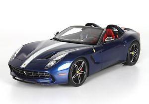 【送料無料】模型車 モデルカー スポーツカー アメリカカラーリングホワイトフェラーリタイプferrari f60 america 2014 blue nart livery white and white 118 p18125i bbr
