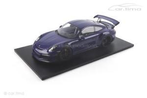 【送料無料】模型車 モデルカー スポーツカー ポルシェグアテマラウルトラバイオレットスパークporsche 911 991 gt3 rs ultraviolett spark 112 12s010
