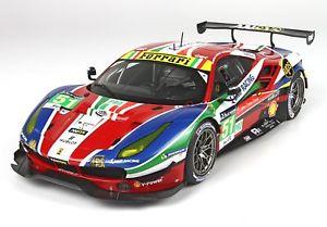 【送料無料】模型車 モデルカー スポーツカー ルマンショーケースフェラーリ#ferrari 488 gte pro 24h le mans 51 mit vitrine 118 p18136v bbr