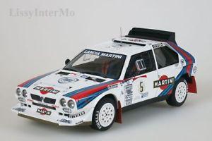【送料無料】模型車 モデルカー スポーツカー マティーニランチアデルタラリー#lancia delta s4 1986 martini rally winner argentinia 5 autoart 118 neuovp