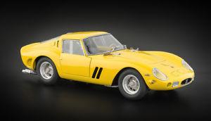 【送料無料】模型車 モデルカー スポーツカー フェラーリイエローferrari 250 gto, 1962 gelb 118 m153 cmc