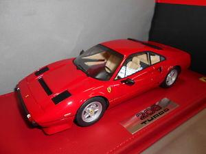 【送料無料】模型車 モデルカー スポーツカー フェラーリターボbbrp18103v by bbr ferrari 208 gtb turbo 1982 118