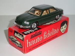 【送料無料】模型車 モデルカー スポーツカー シリーズヌフsolido srie 100 ref 143 panhard 24 bt trs rare couleur verte neuf boite