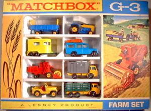 【送料無料】模型車 モデルカー スポーツカー マッチシリーズファームmatchbox 175 serie giftset g3 farm set 1968