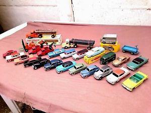 【送料無料】模型車 モデルカー スポーツカー ロットダイバーlot 26 voitures camions dinky toys anciennes jrd etat divers cij corgi toys