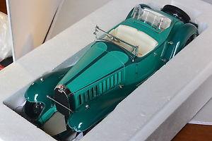 【送料無料】模型車 モデルカー スポーツカー バウアーブガッティロイヤルロードスターサウンドバウアーbauer bugatti royale roadster esders vert deux ton 118 bauer 1990tz68