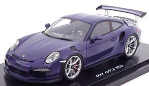 【送料無料】模型車 モデルカー スポーツカー スパークポルシェグアテマラウルトラバイオレットディーラーモデルspark porsche 911 991 gt3 rs ultraviolet 118 wap0211190g dealermodell 2014