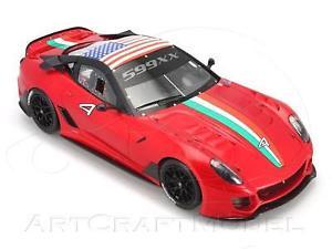 【送料無料】模型車 モデルカー スポーツカー フェラーリホームステッドマイアミロッソferrari 599xx homestead miami 2010 bbr rosso 118