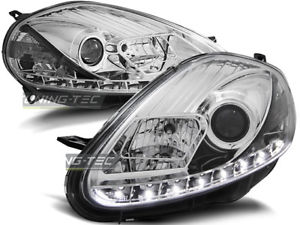 【送料無料 drl】模型車 fiat モデルカー look スポーツカー ヌオーヴォフィアットグランデプントnuovo fanali anteriori led drl look fiat grande punto 20082009 daylight cromo, ラスティーボルト:aee6de9e --- jpworks.be