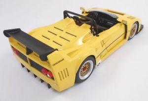 【送料無料】模型車 モデルカー スポーツカー モデルフェラーリボディmg model fr1818 ferrari f40 beurlys definitive barchetta body 1993 jaune 118
