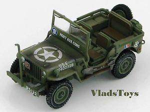 【送料無料】模型車 モデルカー スポーツカー ホビーマスタージープフランスヨーロッパhobby master 148 willys jeep french army mort aux cons europe 1944 hg1609