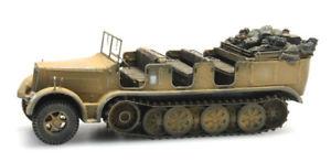 【送料無料】模型車 モデルカー スポーツカー デスクトップドラフトカーアフリカartitec 6870066 187 h0 wwii dt sdkfz 7 zugkraftwagen 8t afrikakorps neu