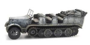 【送料無料】模型車 モデルカー スポーツカー デスクトップドラフトカーartitec 6870068 187 h0 wwii dt sdkfz 7 zugkraftwagen 8t winter neu