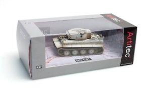 【送料無料】模型車 モデルカー スポーツカー デスクトップタイガーモデルartitec 387102wy 187 h0 wwii dt tiger i winter 1943 fertigmodell