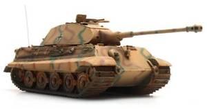 【送料無料】模型車 モデルカー スポーツカー タイガーポルシェカムフラージュartitec 38774cm edw wwii 187 tiger ii porsche camouflage