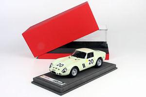 【送料無料】模型車 モデルカー スポーツカー フェラーリルマンイムイタリアferrari 250 gto 24h le mans 1962 limed 50 118 bbr1809v made in italy