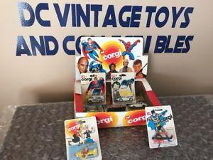 【送料無料】模型車 モデルカー スポーツカー ボックスコミックジェームスボンドジョーカーscarce 1979 corgi toy store display box marvel comics james bond kojak joker